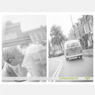 Bruidsfotografie Auke en Christien | De Nieuwe Kerk in Haarlem
